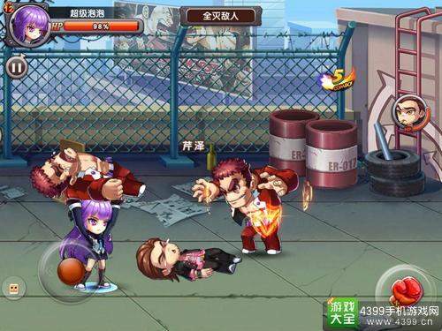 《热血高校》革新横版格斗 FC经典玩法再现