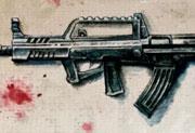 生死狙击玩家手绘―特种95式步枪