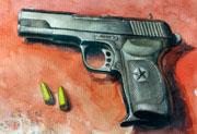 生死狙击玩家手绘―中国54手枪
