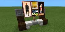 我的世界电视机怎么做 家具内饰教程