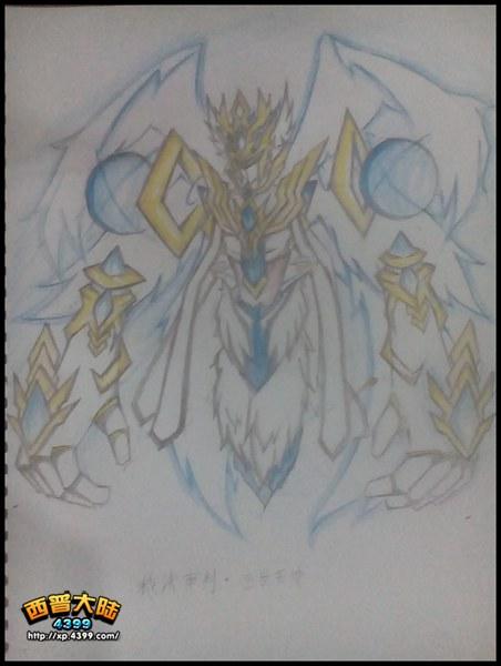 西普大陆手绘 裁决审判・恒世天使