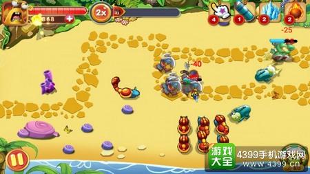 蜗牛保卫战玩法
