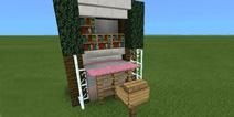 我的世界书桌怎么做 家具内饰教程