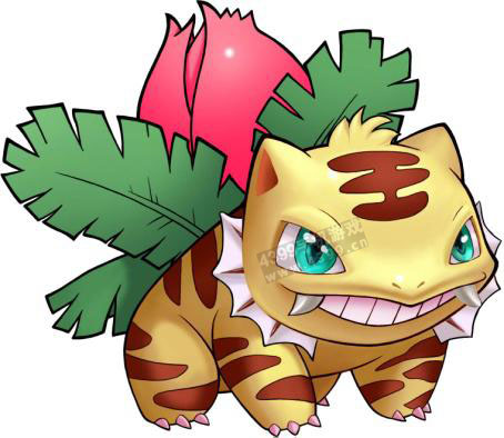 口袋妖怪进化异化妙蛙草