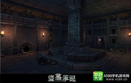 """《盗墓笔记S》首章""""七星鲁王宫""""耳室游戏内实景截图2"""