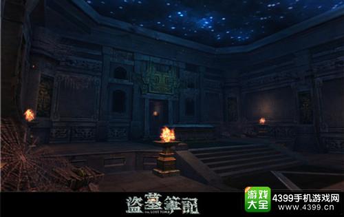 """《盗墓笔记S》首章""""七星鲁王宫""""血尸墓室游戏内实景截图"""
