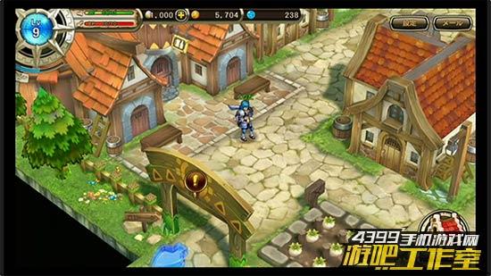 游戏中城镇的移动