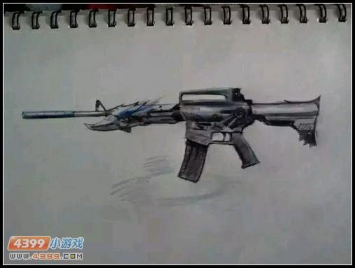 生死狙击玩家手绘—雷神的咆哮