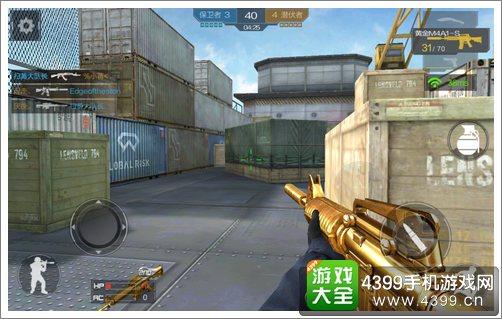 CF手游黄金M4A1-S解析