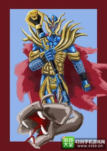 铠甲勇士之英雄传说鼠绘作品 玩家鼠绘同人-铠甲勇士视频 地虎侠 铠甲图片