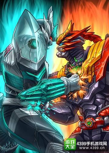 铠甲勇士之英雄传说手绘欣赏 大触画角色大全 铠甲勇士手绘怪兽赏析