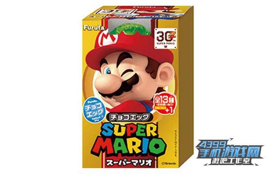 超级马里奥纪念版食玩盒蛋