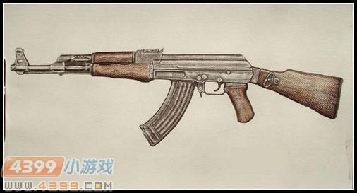 生死狙击玩家手绘—ak47的魅力
