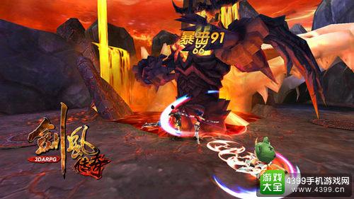剑风传奇游戏画面