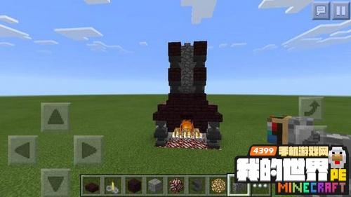 我的世界壁炉设计图