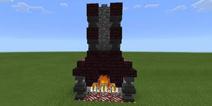 我的世界中世纪壁炉教程 壁炉设计图