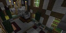 我的世界田园小屋建筑教程 田园小屋设计图