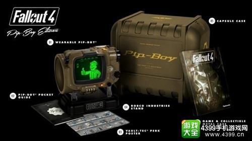《辐射4》中英文版正式发布 Pip-Boy潜藏版也将上市