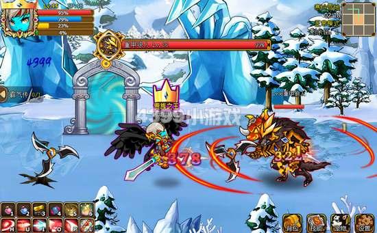 国王的勇士5寒冷雪地副本