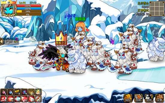 国王的勇士5无尽雪山副本