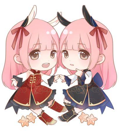 奇迹暖暖双子