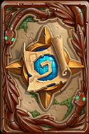 炉石传说神秘图纸卡背