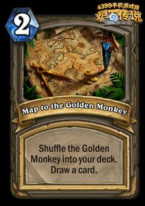 炉石传说黄金猿藏宝图