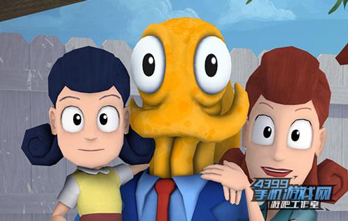 《章鱼奶爸:知名捕捉》评测1