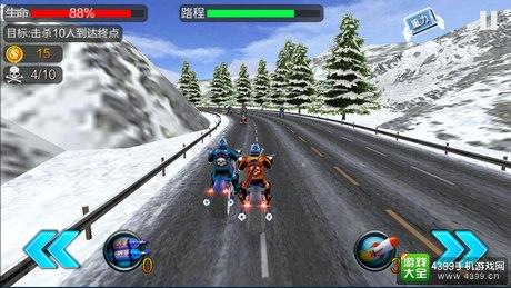 暴力摩托极速狂飚好玩吗