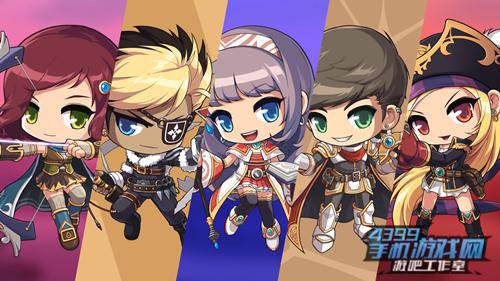 《冒险岛M》五大职业:弓箭手、飞侠、魔法师、战士、海盗