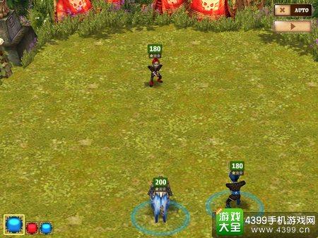 龙之忍者回合战斗