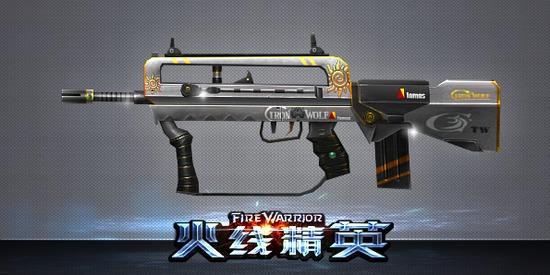 火线精英 武器大全 主武器 正文  描述 星级  二星 金币14500/点券29