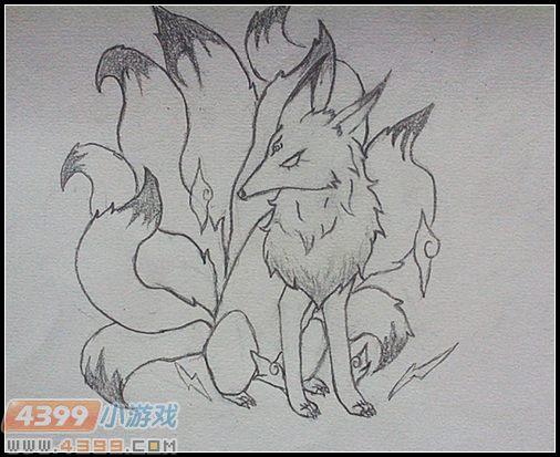 卡布手绘—狐仙