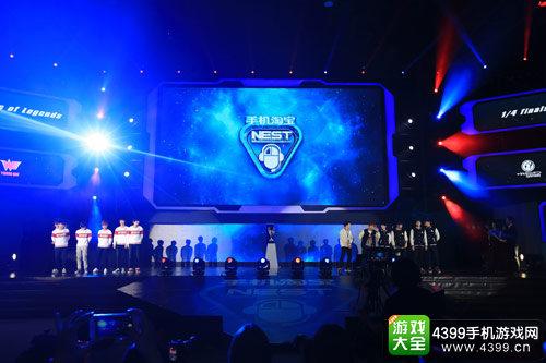 NEST2015揭幕战WE对阵IG