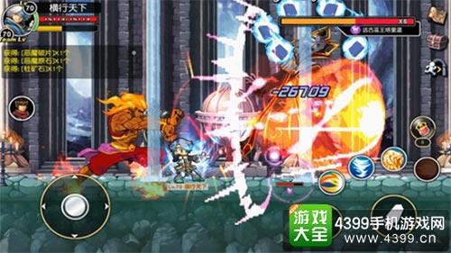 《横行冒险王》则由蜗牛游戏代理,堪称端游级别的职业构架,使其首测