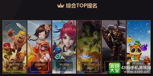 金狮奖游戏类提名综合TOP