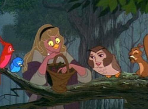 图样图森破:当迪士尼的公主变成了女巫脸