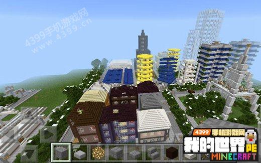 我的世界手机版建筑地图