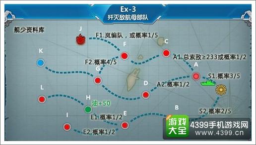 战舰少女r中间岛战役e3带路条件