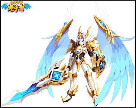 龙斗士审判天使高清大图展示