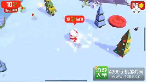 圣诞主题全民来临《划动浮空岛》新版更新