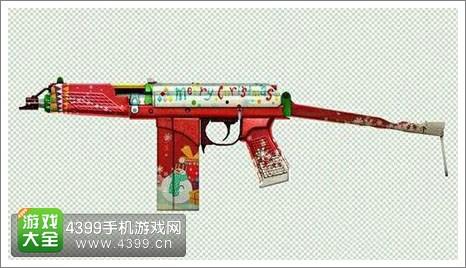 CF手游圣诞武器抢鲜看1