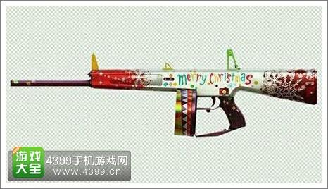 CF手游圣诞武器抢鲜看2