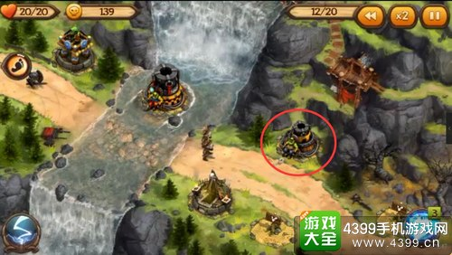保卫部落3D第一章第三关攻略