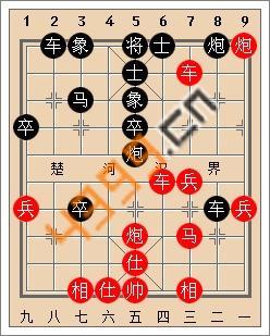 天天象棋开局实战解析中炮对屏风马