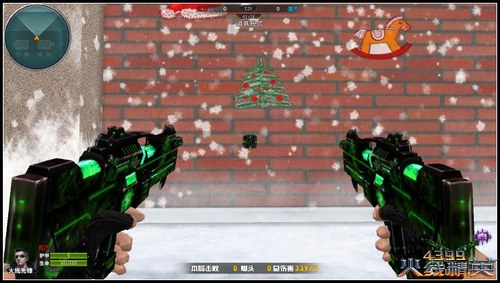 火线精英圣诞广场地图攻略