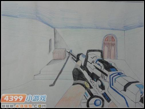 生死狙击玩家手绘 雷霆之怒崛起