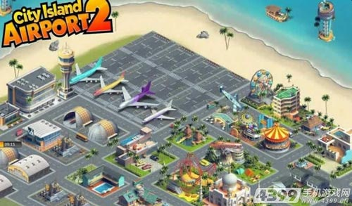 城市岛屿:飞机