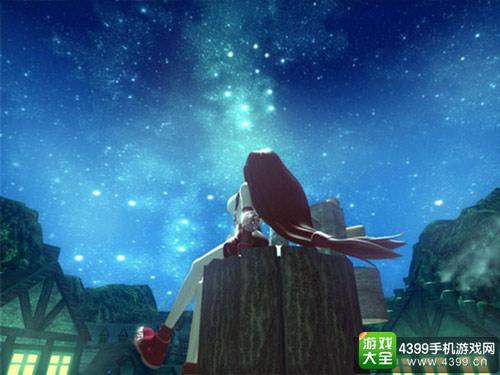 而《最终幻想7》的宣传画面是这样的,即便实机画质并没有这么突出,但在当时依旧是划时代的革新