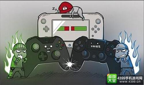 任天堂、索尼、微软等企业群雄割据主机市场,在激烈的商业碰撞中引领主机游戏进入了全球风靡的时代